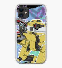 Gortys x Loader Bot (Smashcard) - Blue iPhone Case