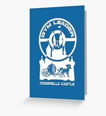 Poke-GO: Cindy's Castle Gym Leader Greeting Card