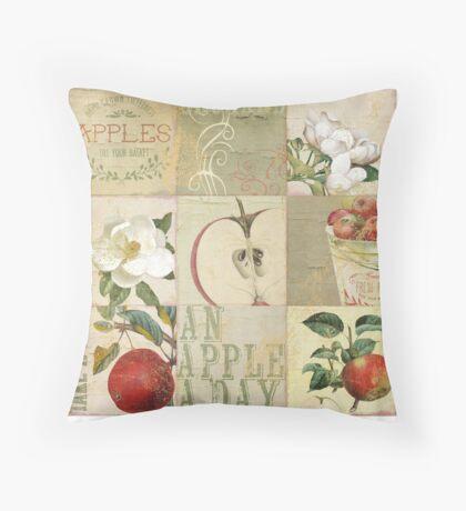 Apple Blossoms II Throw Pillow