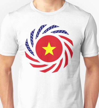 Vietnamese American Multinational Patriot Flag Series T-Shirt