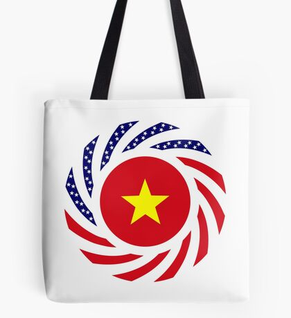 Vietnamese American Multinational Patriot Flag Series Tote Bag