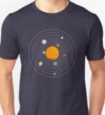 Gallifreyan Solar System - Edit T-Shirt