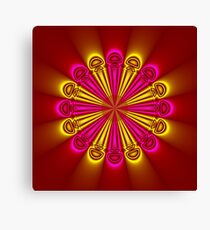 Bright and Beautiful colored flower Canvas Print