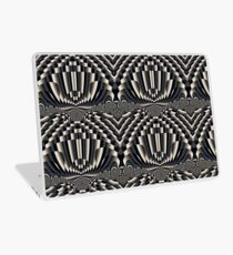Abstract vintage painting design Laptop Skin