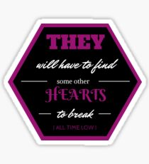 All Time Low - Runaways #1 Sticker
