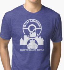 Poke-GO: Sleeping Beauty's Castle Gym Leader Tri-blend T-Shirt