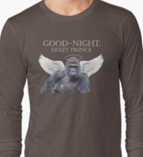 Good-Night, Sweet Harambe Long Sleeve T-Shirt