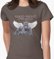 Good-Night, Sweet Harambe Women's Fitted T-Shirt