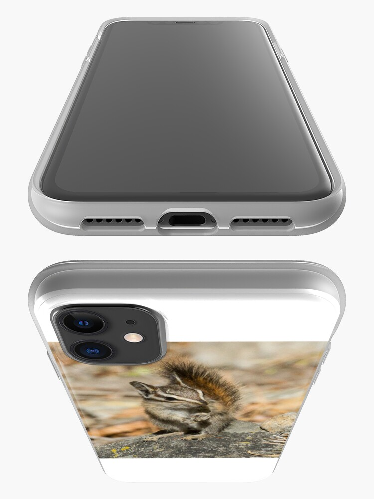 Alternate view of Hello chipmunk! iPhone Case & Cover