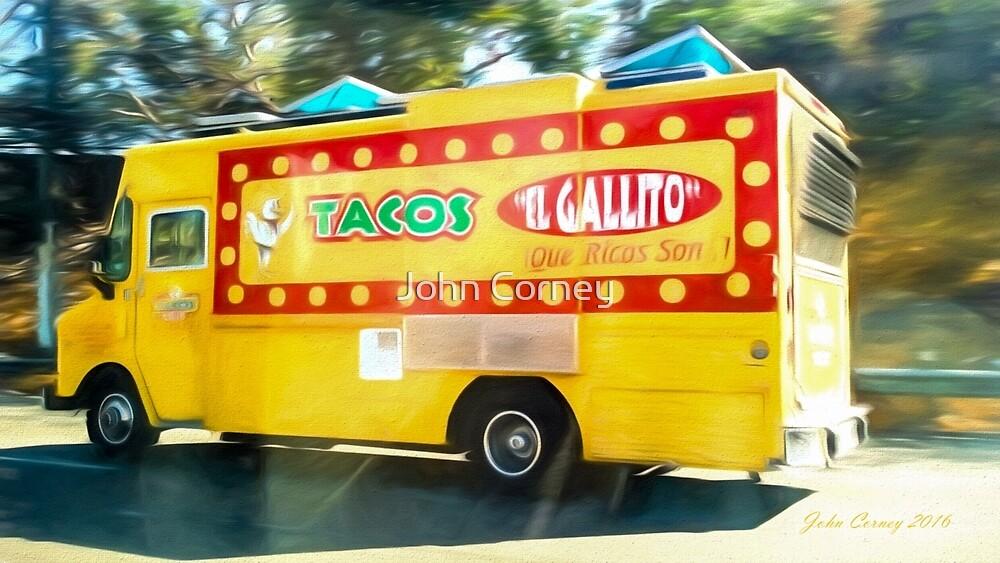 LA Taco Truck by John Corney