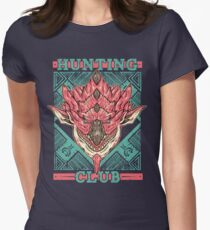 Hunting Club: Pink Rathian  Womens Fitted T-Shirt