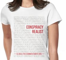 Conspiracy Realist Womens Fitted T-Shirt