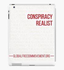 Conspiracy Realist iPad Case/Skin