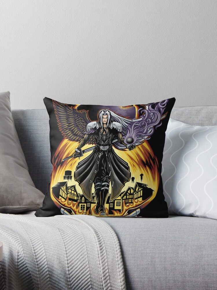One Winged Angel - Pillow and Tote by TrulyEpic