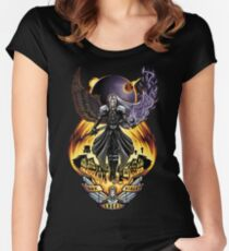 One Winged Angel Women's Fitted Scoop T-Shirt