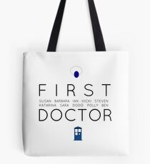 First Doctor Minimalist Tote Bag