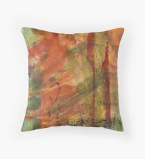 Burned Orange Throw Pillow