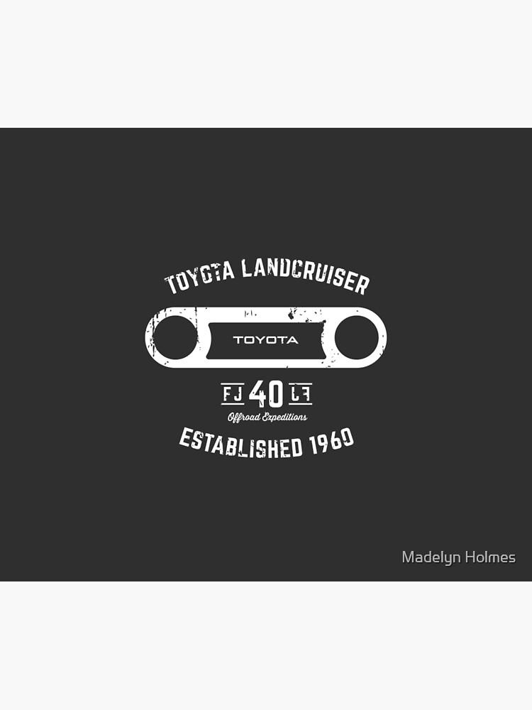 Toyota 40 Series Landcruiser FJ40 Round Bezel Est. 1960 by mhphotographics