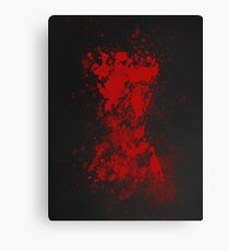 Red on my Ledger Canvas Print