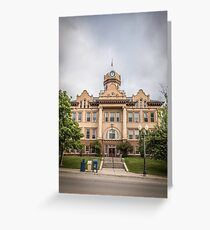 Fergus County Courthouse Greeting Card