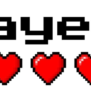 Player 1 couple's logo - White background by rainbow321