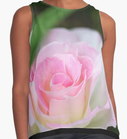 Seduced by a Rose Contrast Tank