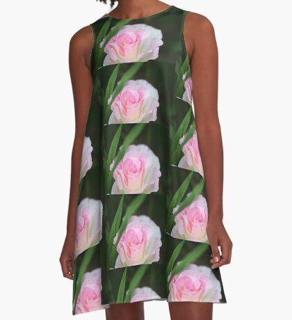 Seduced by a Rose A-Line Dress
