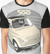 Fiat 500 personalized for Olivia Graphic T-Shirt