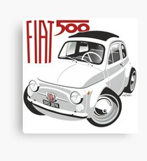 Fiat 500 personalized for Olivia Canvas Print