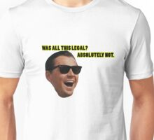 Wolf of Wallstreet: Absolutely Not Unisex T-Shirt