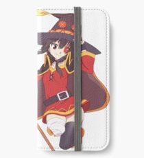 Konosuba - Megumin iPhone Flip-Case/Hülle/Klebefolie