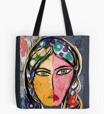 Portrait of a mystique girl Tote Bag
