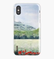 View, Lomond Hills iPhone Case