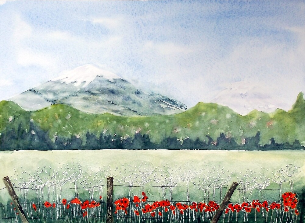 View, Lomond Hills by Pat  Elliott