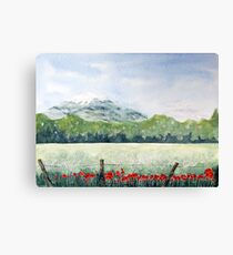 View, Lomond Hills Canvas Print