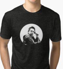 mingus portrait  (for dark background) Tri-blend T-Shirt