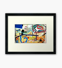 Abstract #3 Framed Print