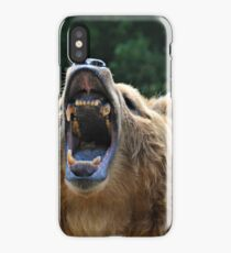 Bear Showing Teeth iPhone Case/Skin