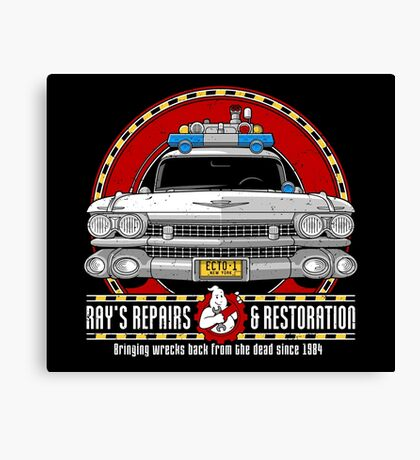 Ray's Repairs and Restoration Canvas Print