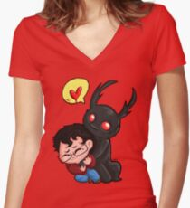 Hannibal - Embrace the cuteness Women's Fitted V-Neck T-Shirt