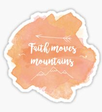 Faith Quote Sticker