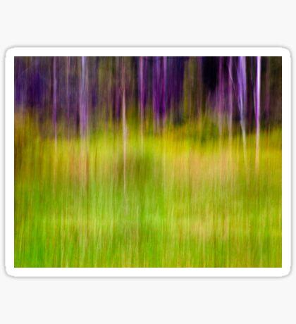 Mitchell Park ~ the impressionist's view I Sticker