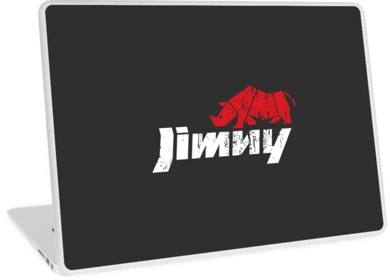 'Suzuki Jimny Rhino' Laptop Skin by Madelyn Holmes