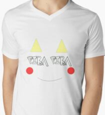 Pikachu - pokemon go Mens V-Neck T-Shirt