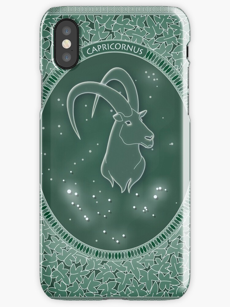 Capricornus - Zodiac earth sign by chartofthemomen
