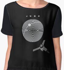 MISSION JUNO: NASA Space Probe  Women's Chiffon Top