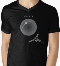 MISSION JUNO: NASA Space Probe  Men's V-Neck T-Shirt