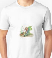 Crissy The Camping Fairy Unisex T-Shirt