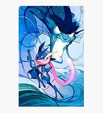 Water Dragon Jutsu Photographic Print