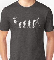 Funny Evolution Of Man Astronomy Unisex T-Shirt